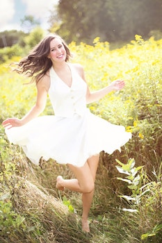 Free stock photo of girl, dancing, dress, happy