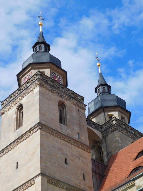 Бесплатное стоковое фото с архитектура, Бавария, байройт, башни