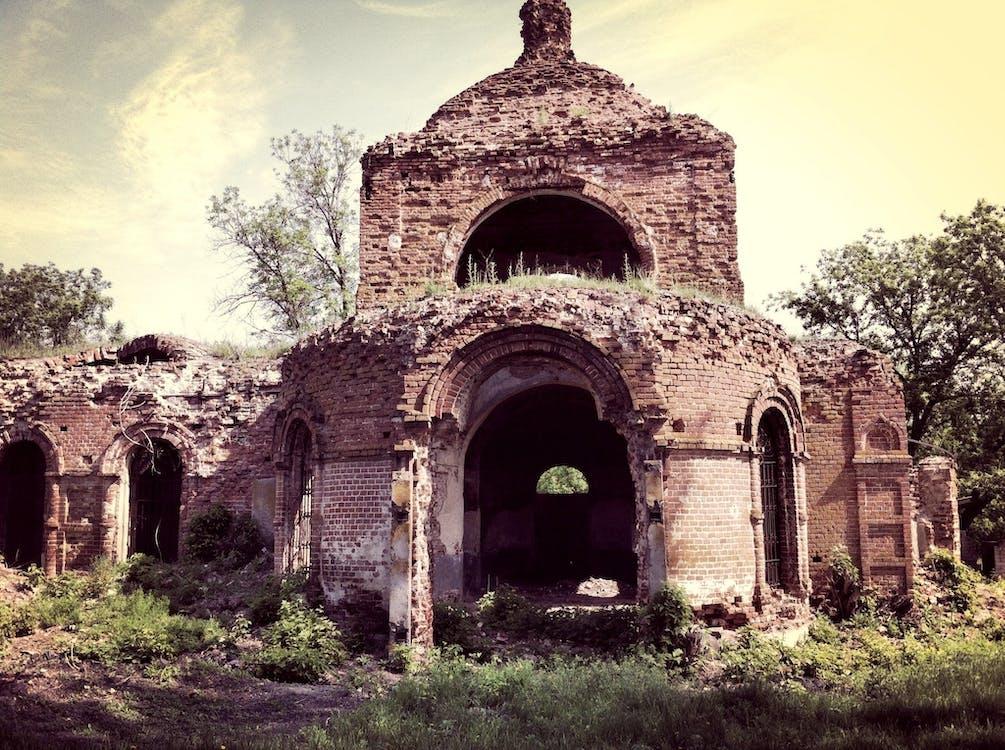 antikk, arkitektur, bue