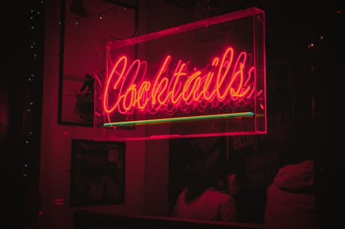 Cocktails Neon Signage