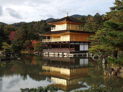 京都, 傳統, 公園, 反射 的 免費圖庫相片