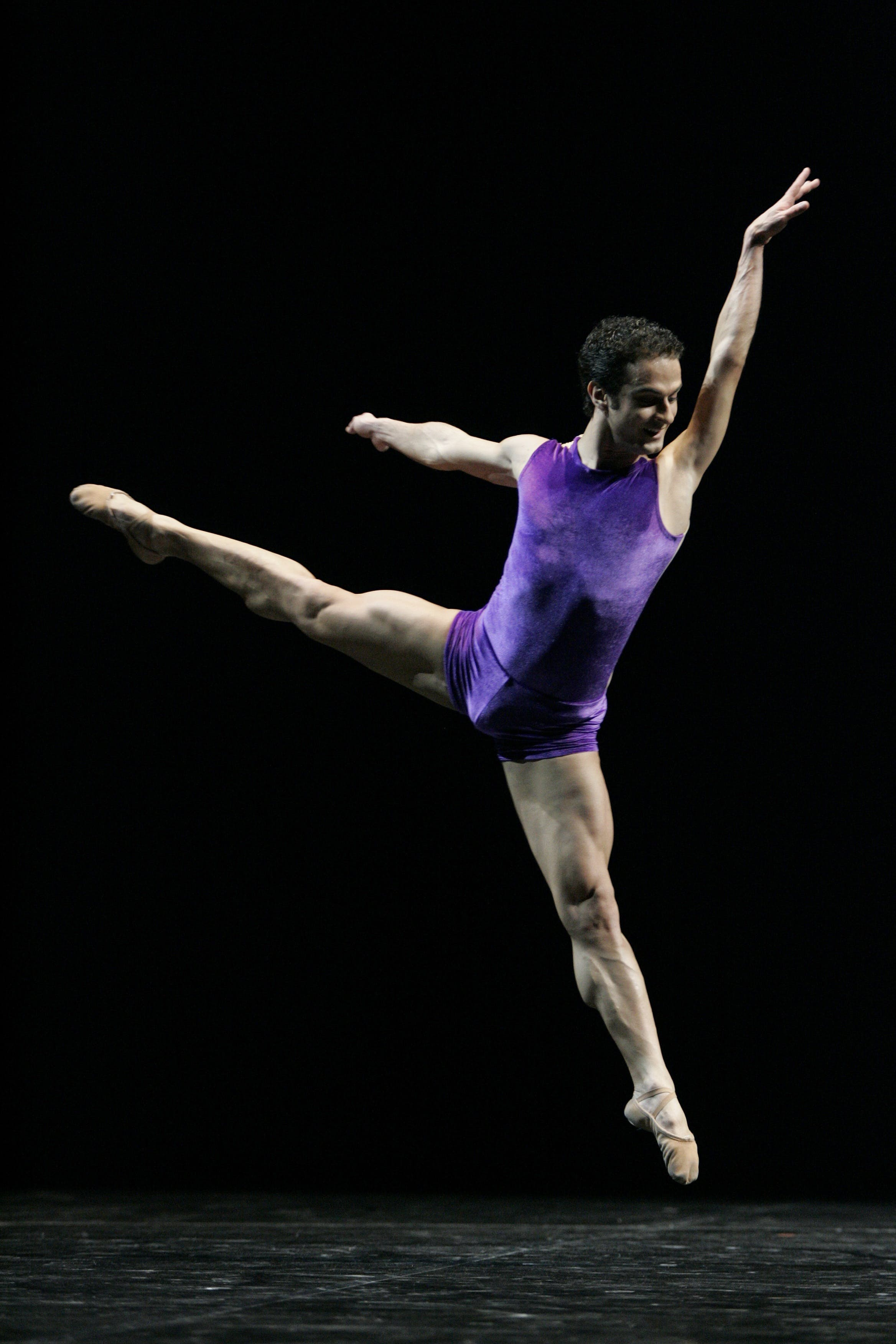 Man Performing Ballet Dancing