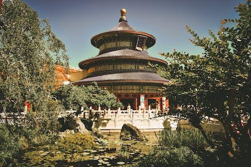 Foto stok gratis agama, Agama Buddha, Arsitektur, beken