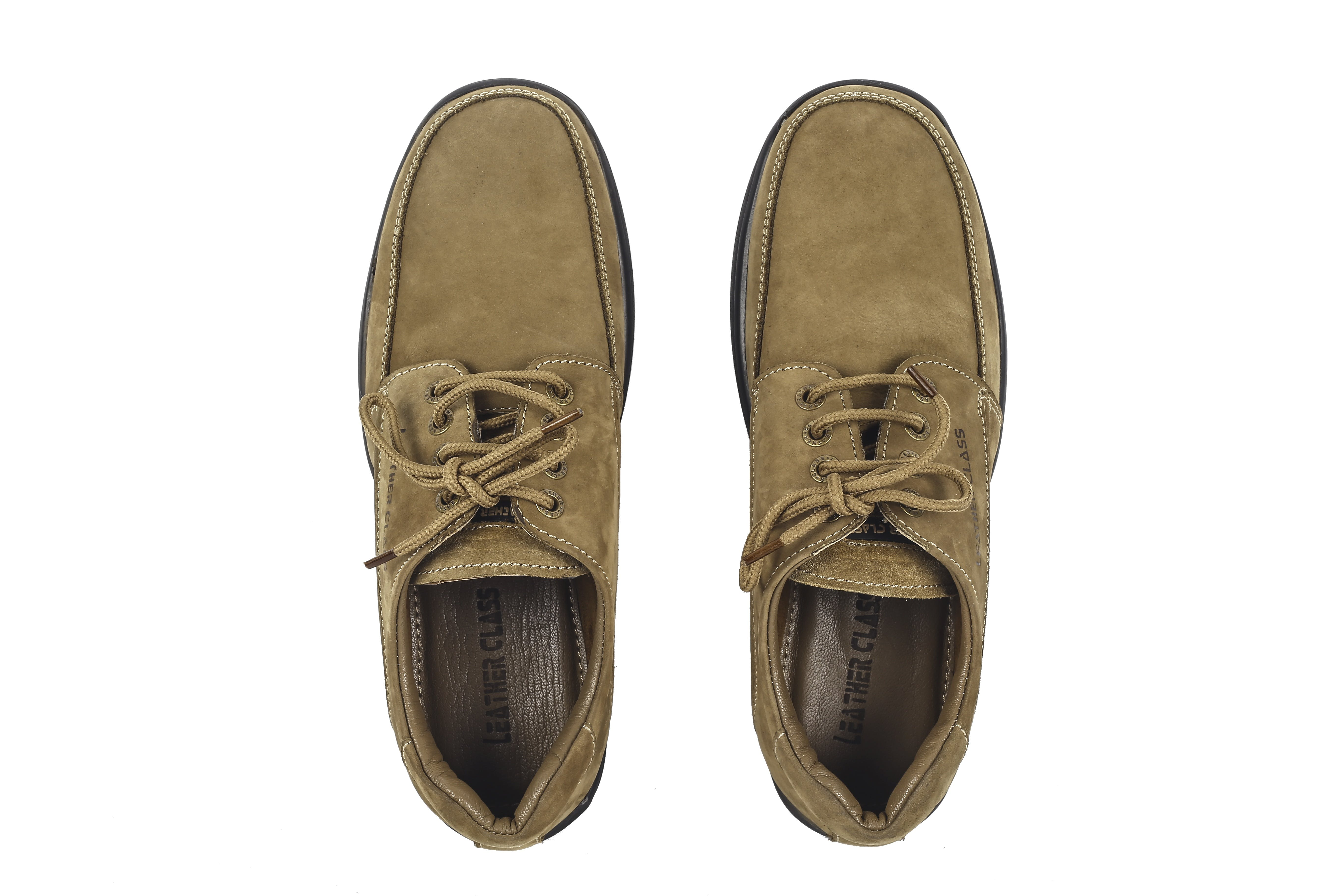 Brown Leather Lace Up Shoes