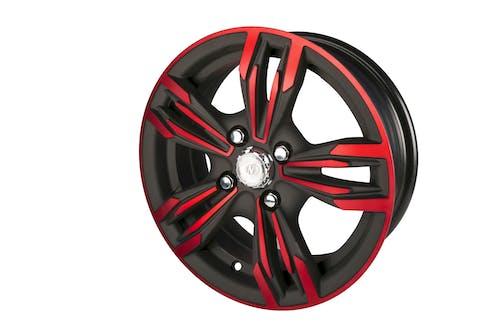 Ảnh lưu trữ miễn phí về bánh xe mag, đỏ và đen, hợp kim, vành hợp kim