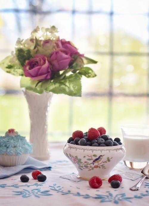 Imagine de stoc gratuită din afine, flori, fructe, mâncare