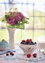 food, flowers, fruits