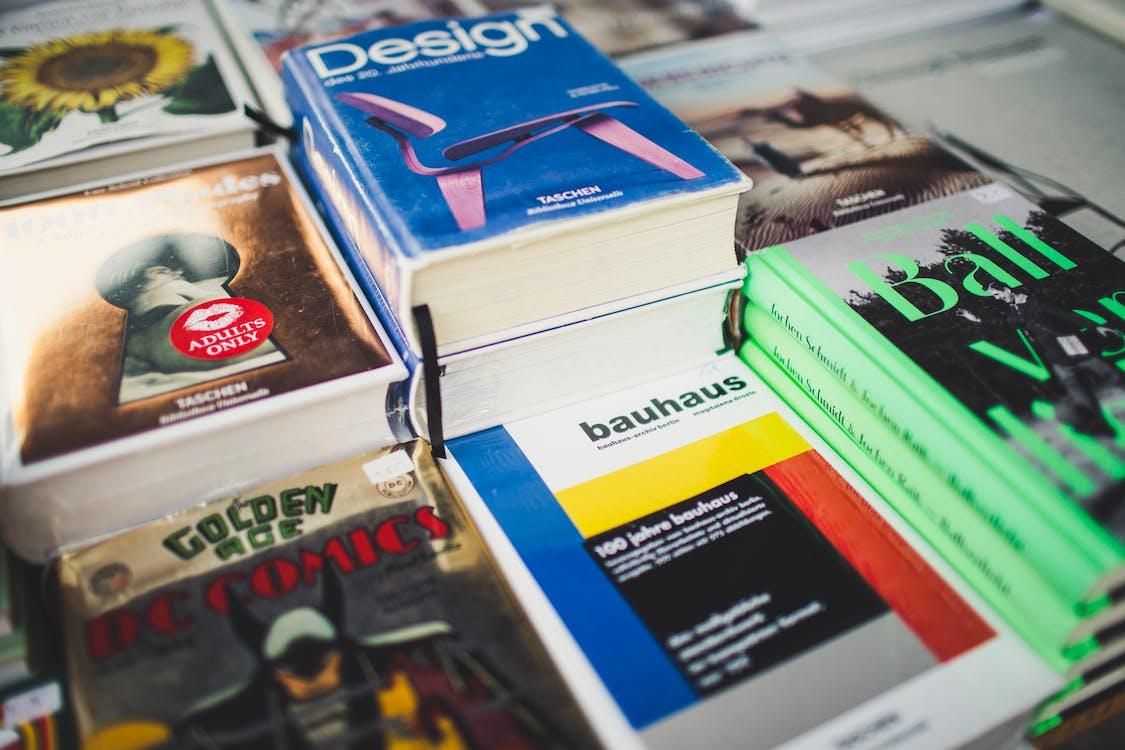 bauhaus, book store, books