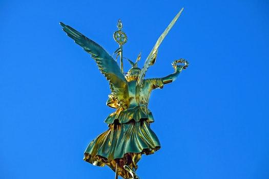 Free stock photo of art, landmark, capital, statue