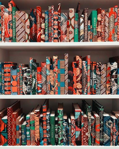 Free stock photo of art, books, boston, colorful