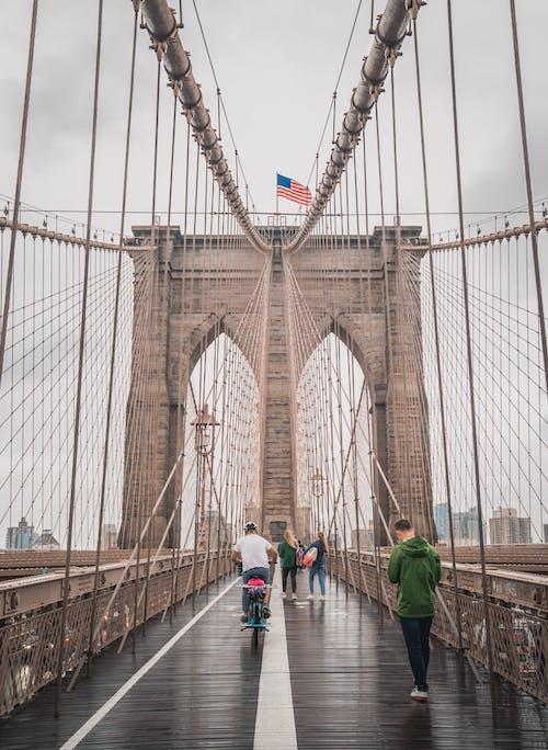 Ilmainen kuvapankkikuva tunnisteilla amerikan lippu, arkkitehdin suunnitelma, arkkitehtuuri, brooklyn