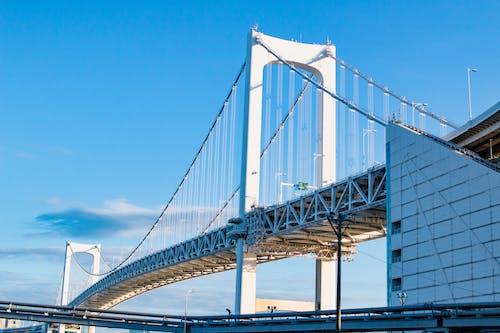 Δωρεάν στοκ φωτογραφιών με αρχιτεκτονική, ατσάλι, γέφυρα, γέφυρα ουράνιου τόξου