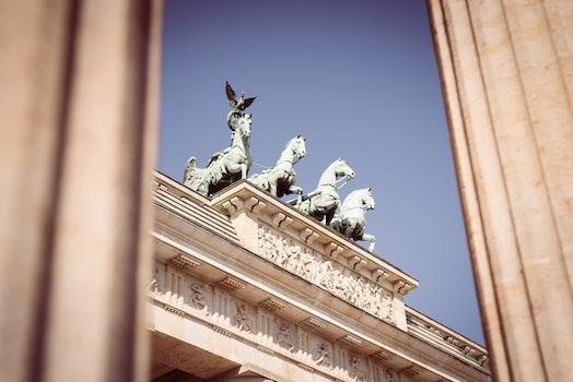 Free stock photo of landmark, building, berlin, goal