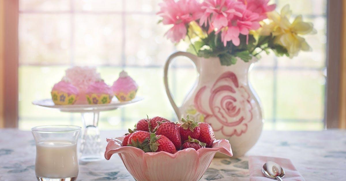 Kostenloses foto zum thema dekoration dessert erdbeeren for Dekoration erdbeeren
