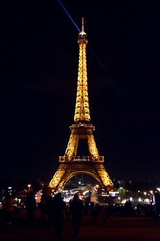 Free stock photo of light, city, eiffel tower, france