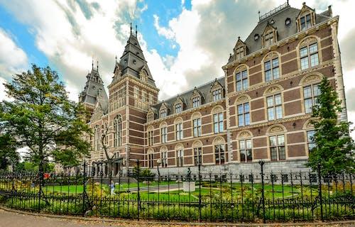 Imagine de stoc gratuită din Amsterdam, antic, arbori, arhitectură