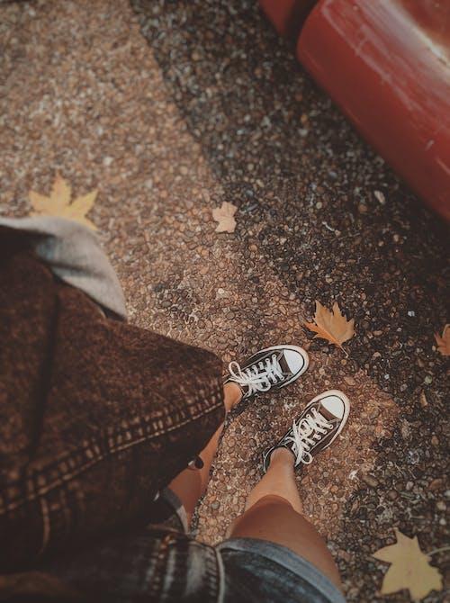 Foto d'estoc gratuïta de a l'aire lliure, ambient, bellesa, calçat
