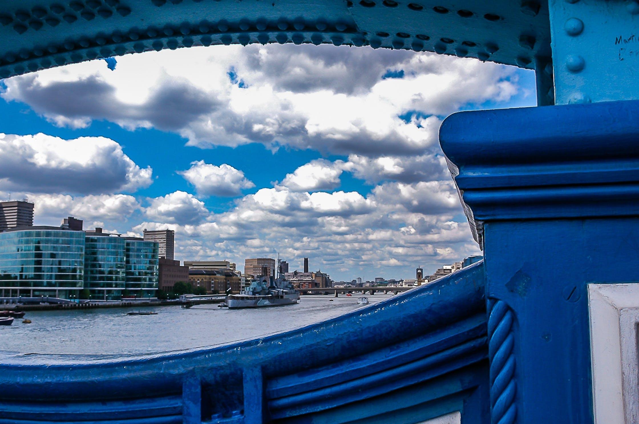 Free stock photo of city, sky, landmark, clouds