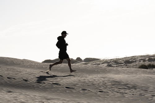 Free stock photo of dunes, exercise, footprints