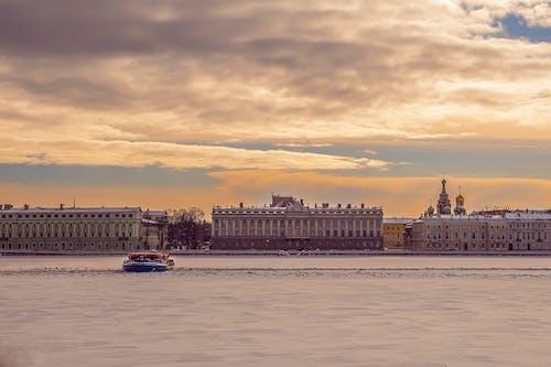 サンクトペテルブルク, シティ, シンボル, スカイラインの無料の写真素材