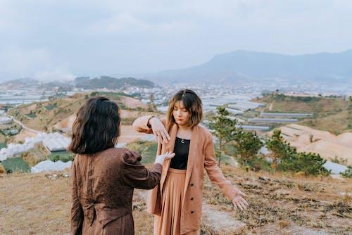 アジアの女の子, アジア人女性, おしゃれ, カジュアルの無料の写真素材