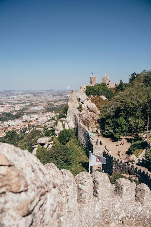 古老的, 哥德式, 城堡, 城市 的 免費圖庫相片