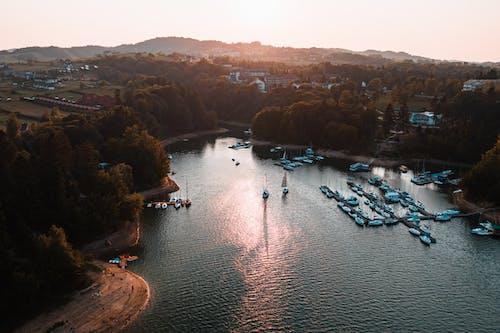 Gratis stockfoto met boten, buitenshuis, dageraad, daglicht