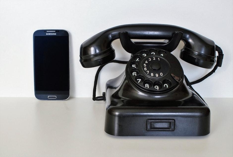 antique, black, call