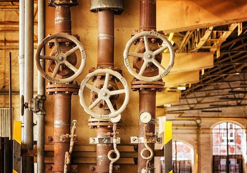 Darmowe zdjęcie z galerii z fabryka, koło, linia, maszyneria