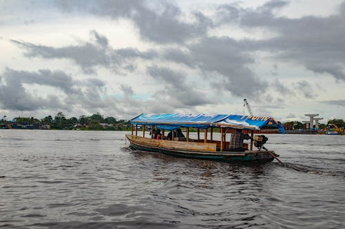 Photo of Boat on Amazon River
