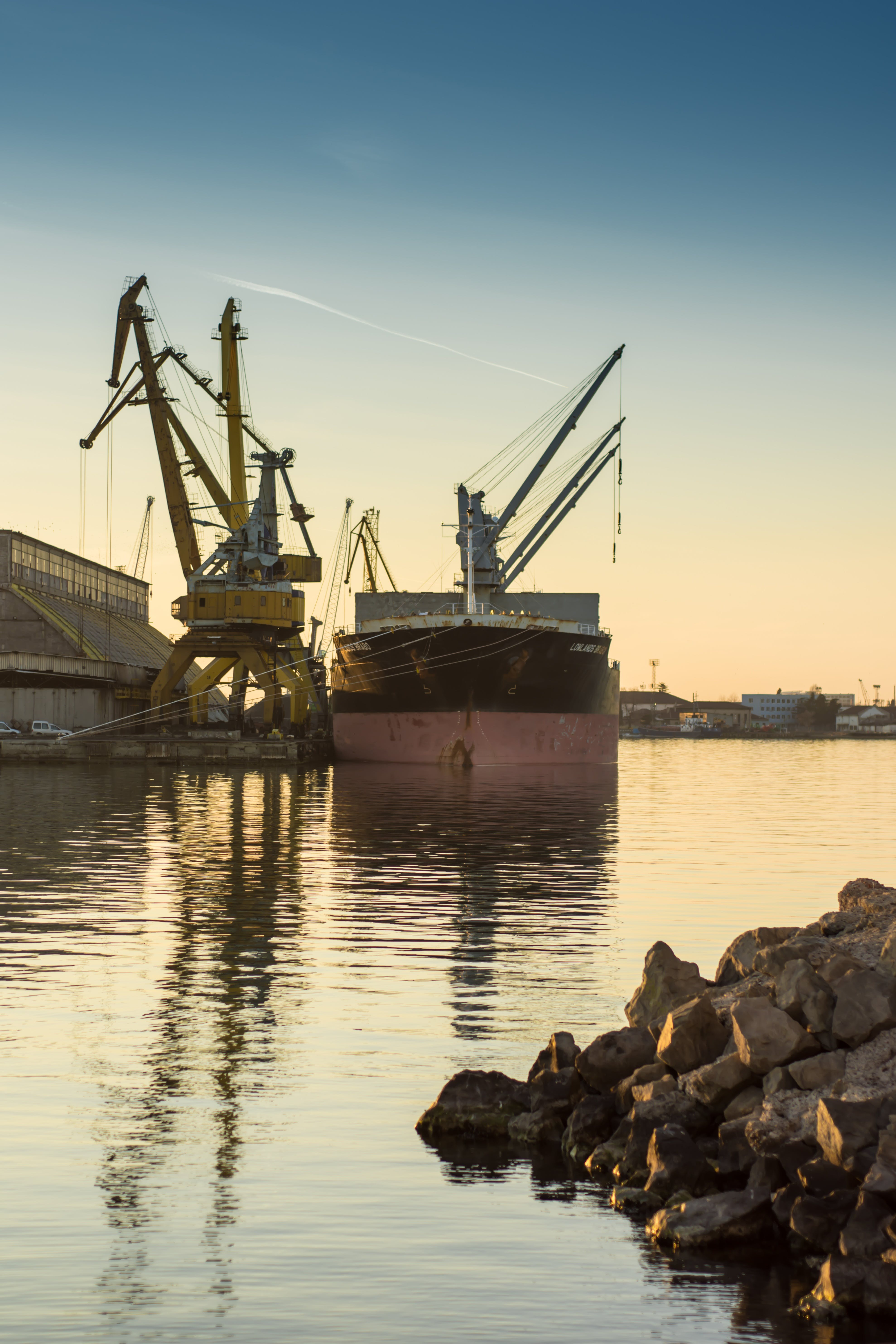 Free stock photo of bay, boat, business, cargo