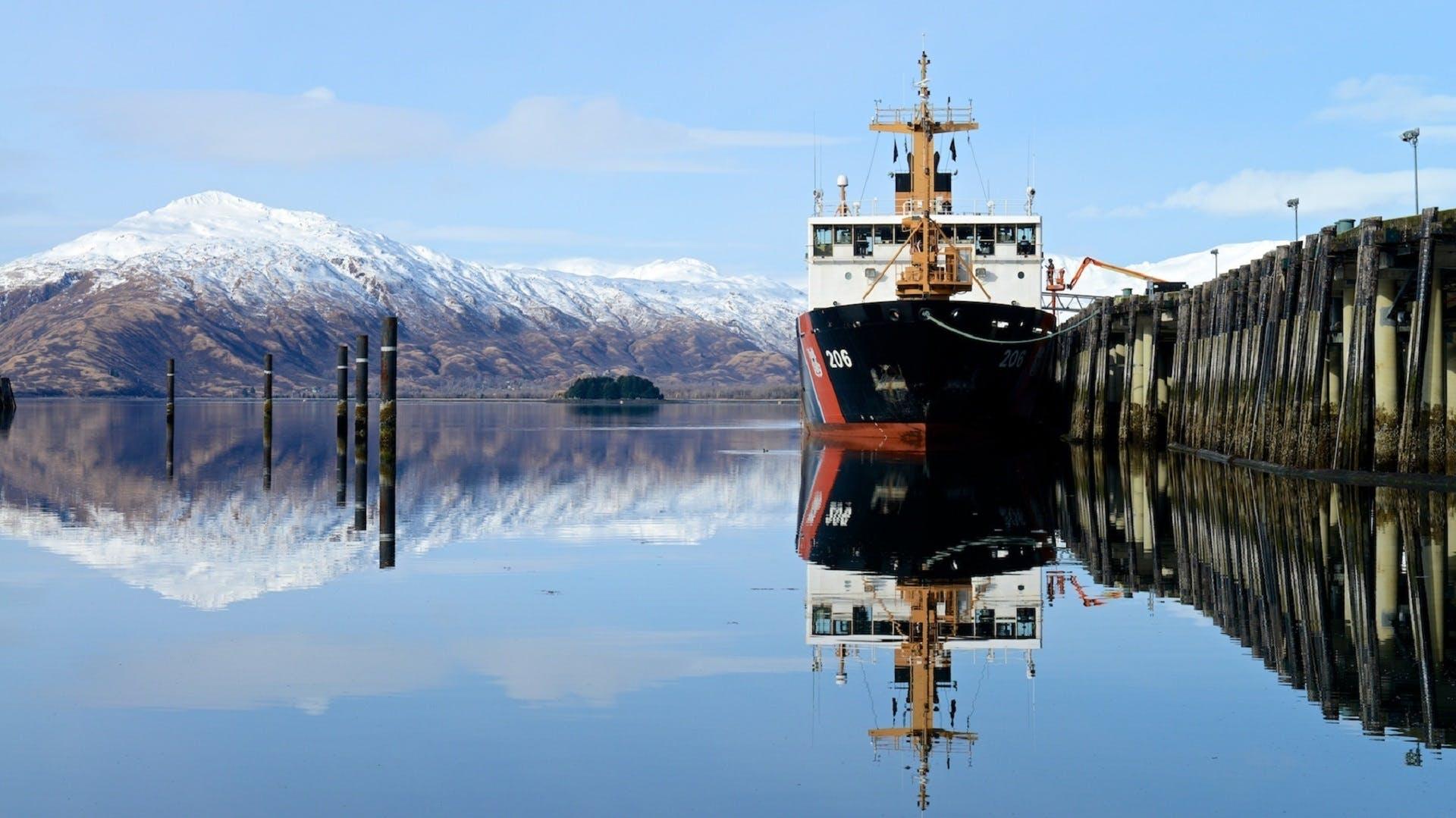 Kostenloses Stock Foto zu arbeit, berge, docking-bereich, eis