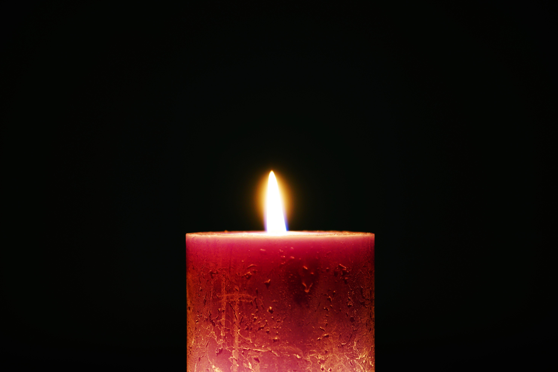 bright, burning, candle