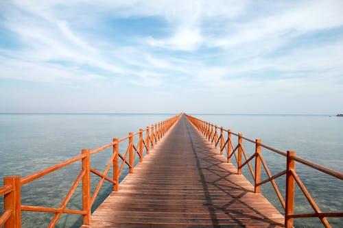Free stock photo of beach, blue sea, blue sky