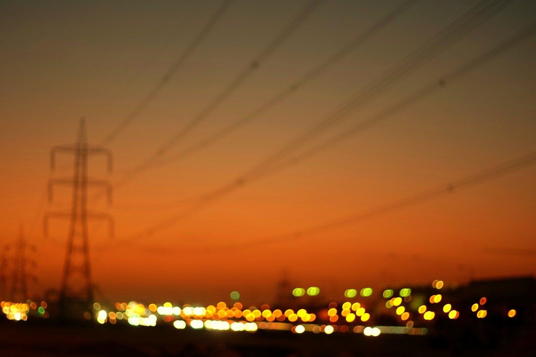 Foto profissional grátis de cidade, pôr do sol