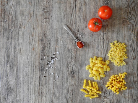 Free stock photo of food, wood, texture, pasta