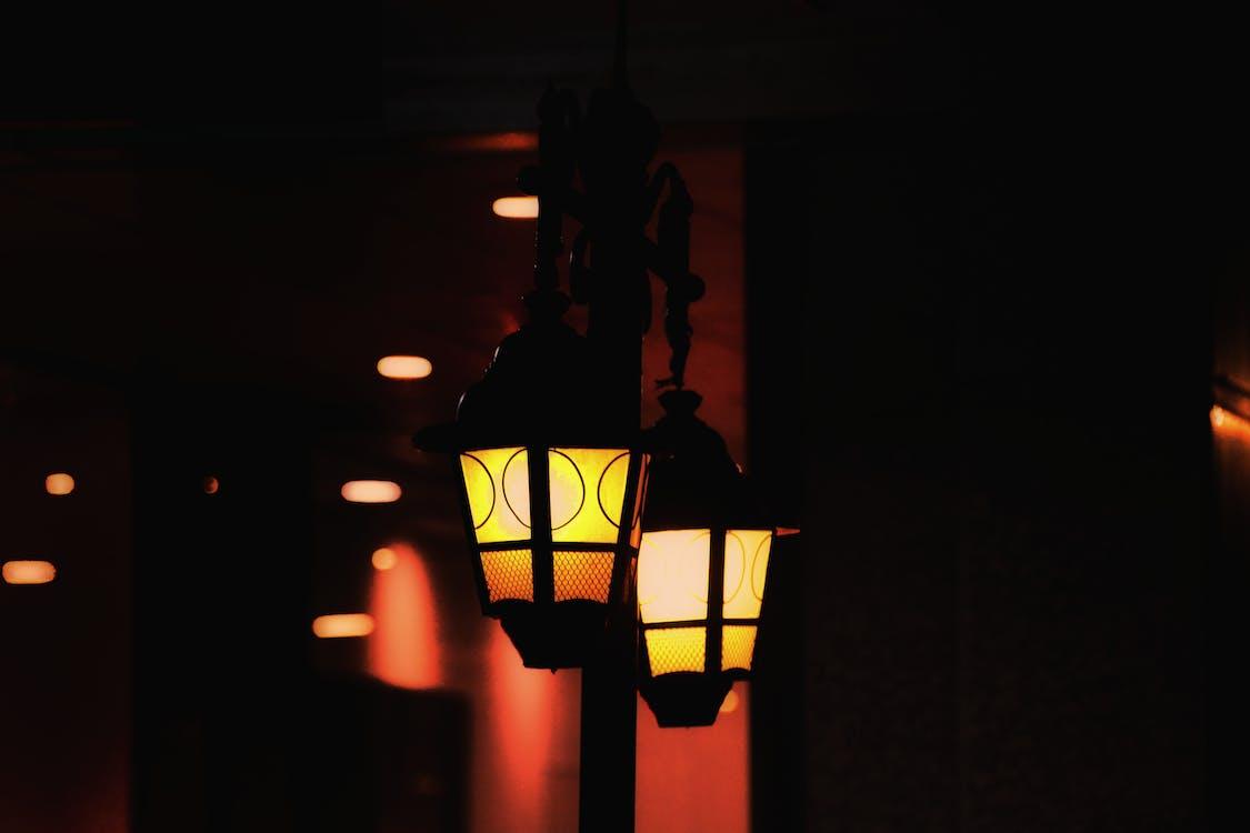 back light, ceiling lamp, City Street