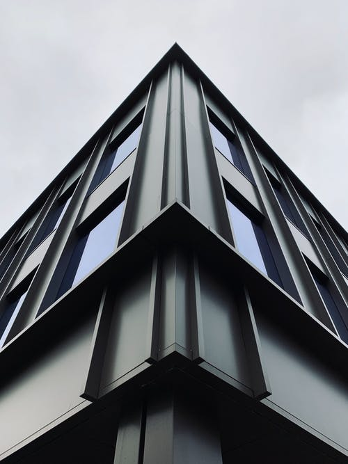 Low Angle Photography of Gray Building Structure