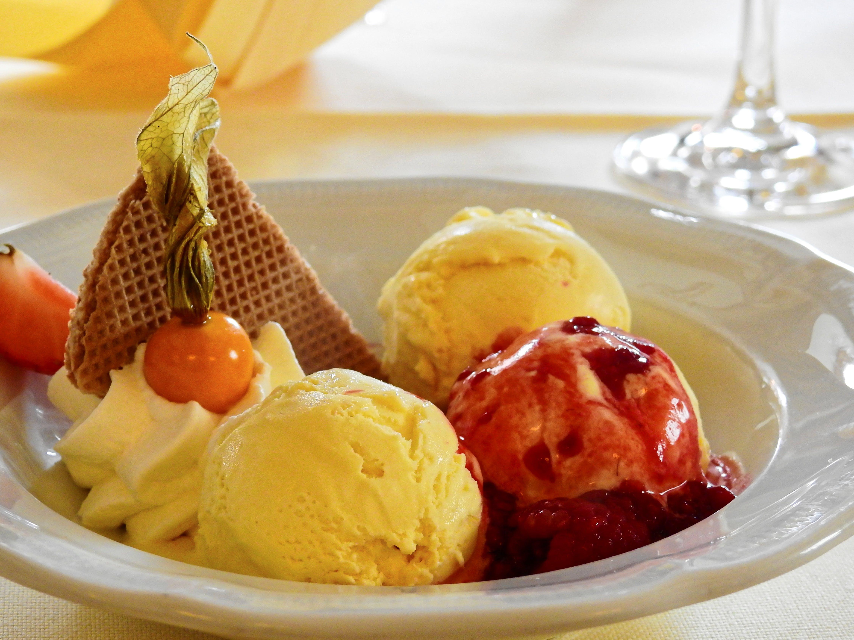 Free stock photo of food, restaurant, ice, raspberries