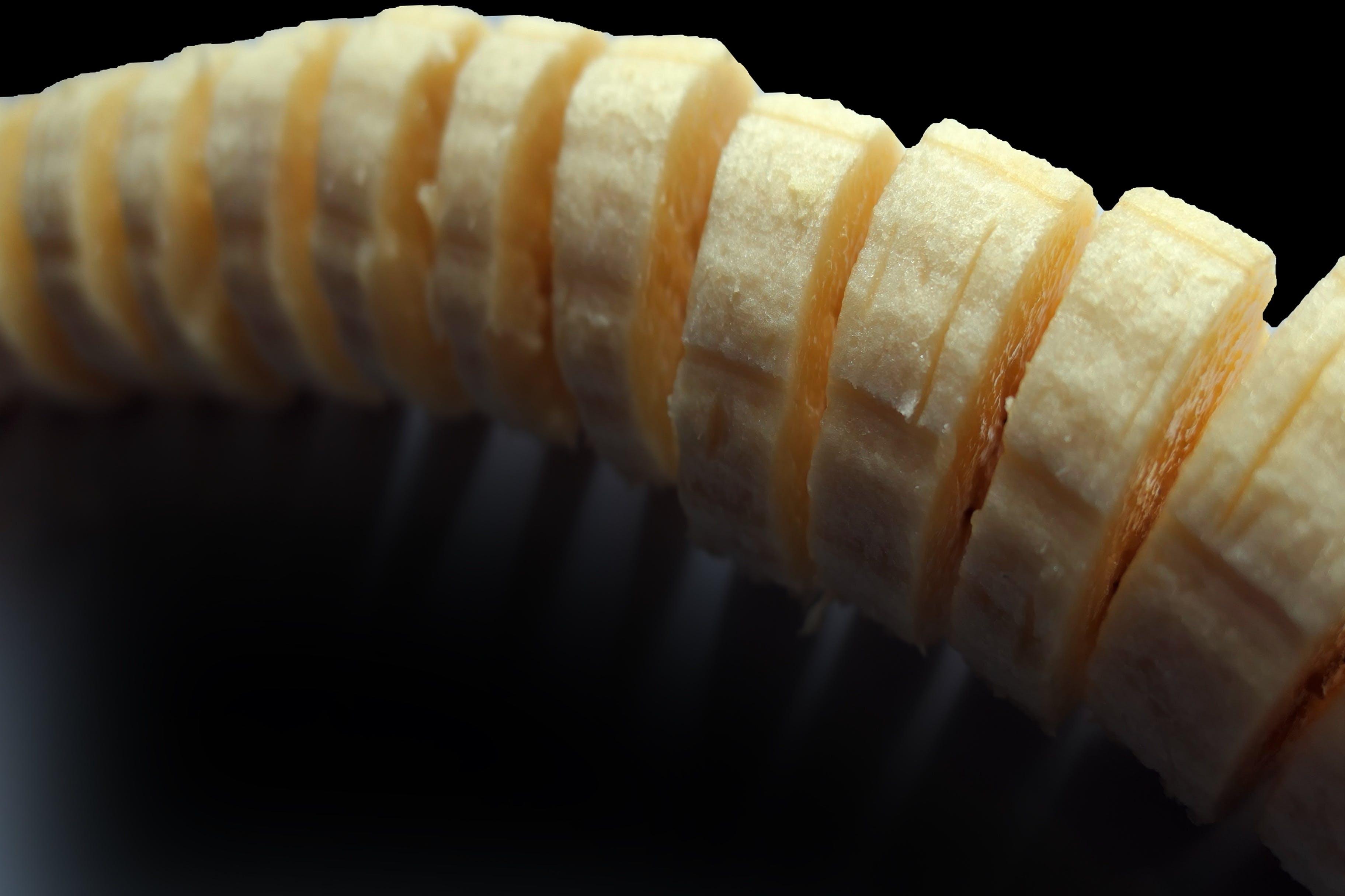 Imagine de stoc gratuită din banană, delicios, estompare, felie