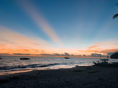 Free stock photo of beach, beach sunset, camp, Philippines