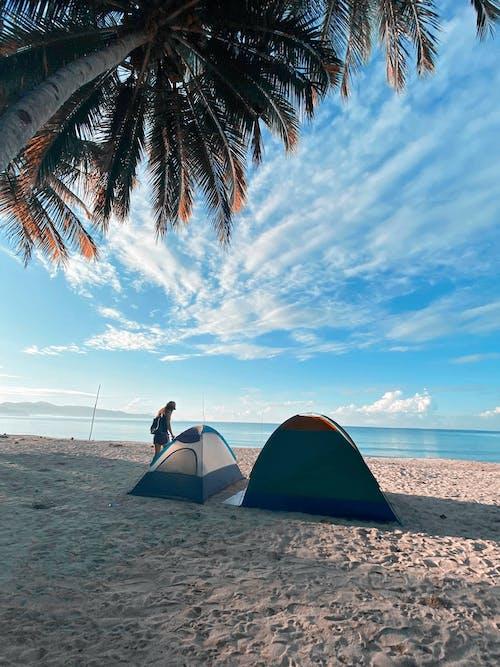 Free stock photo of beach, camp, Philippines, sand