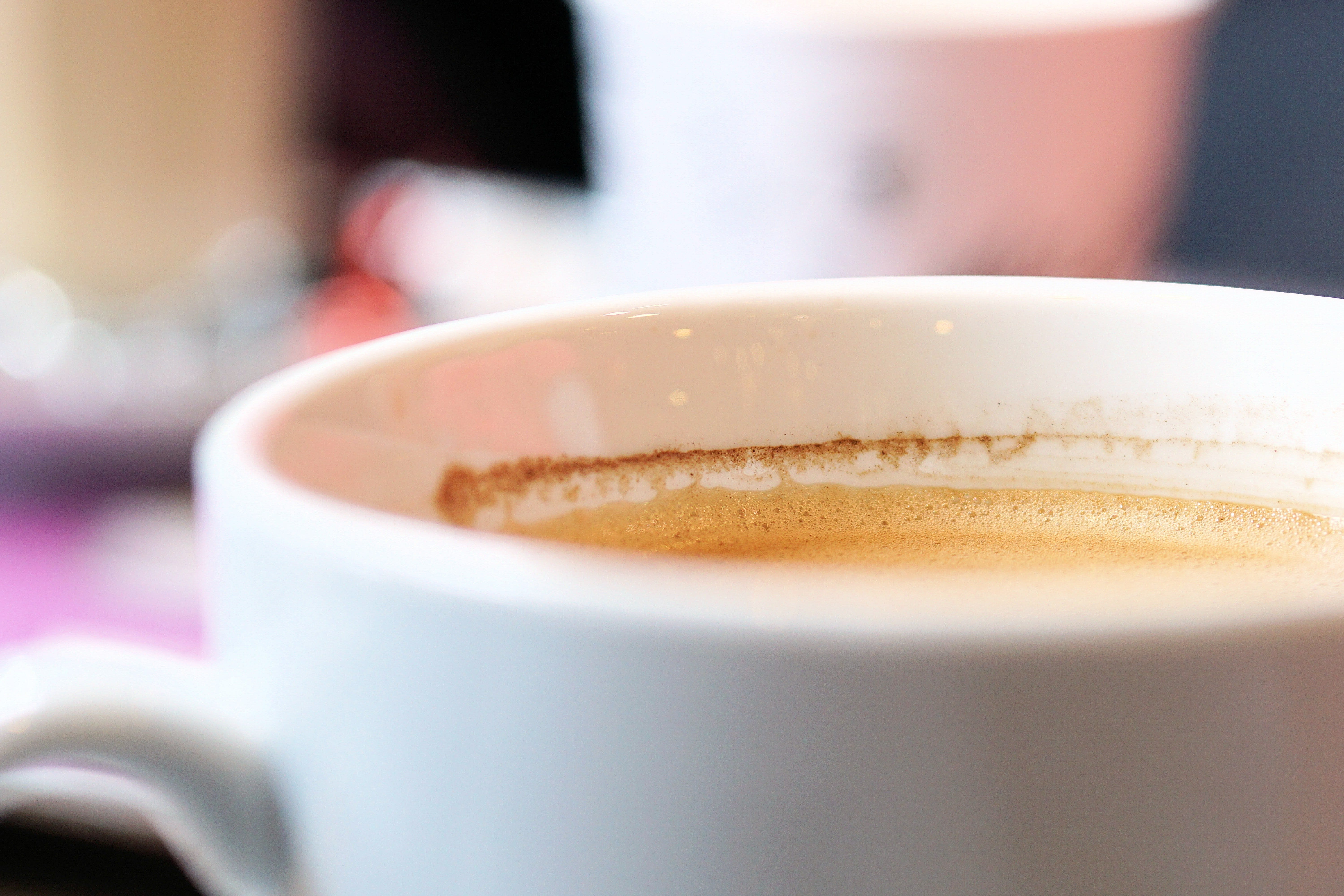 Closeup Photography of Cup Filled With Coffee