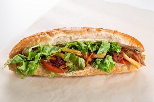 Free stock photo of bread, food, sandwich, healthy
