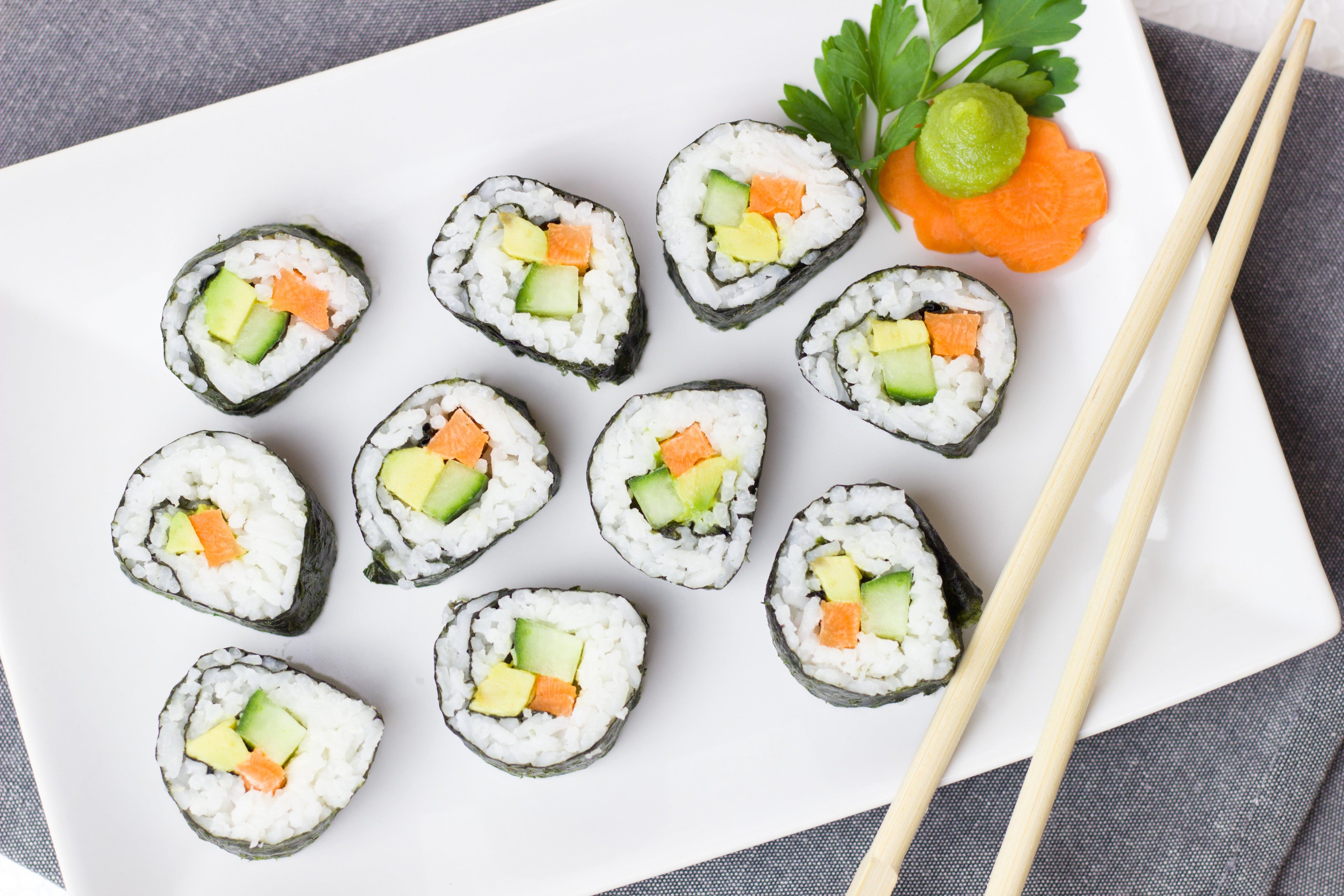 Gratis lagerfoto af Asien, delikat, fisk og skaldyr, frokost