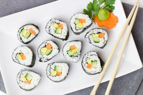 California Maki on Dish