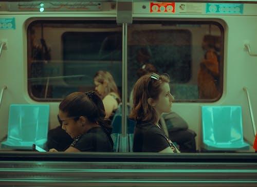 Free stock photo of peope, subway, train