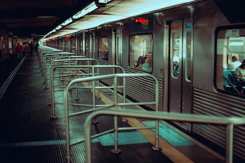 Free stock photo of cinematic, subway platform