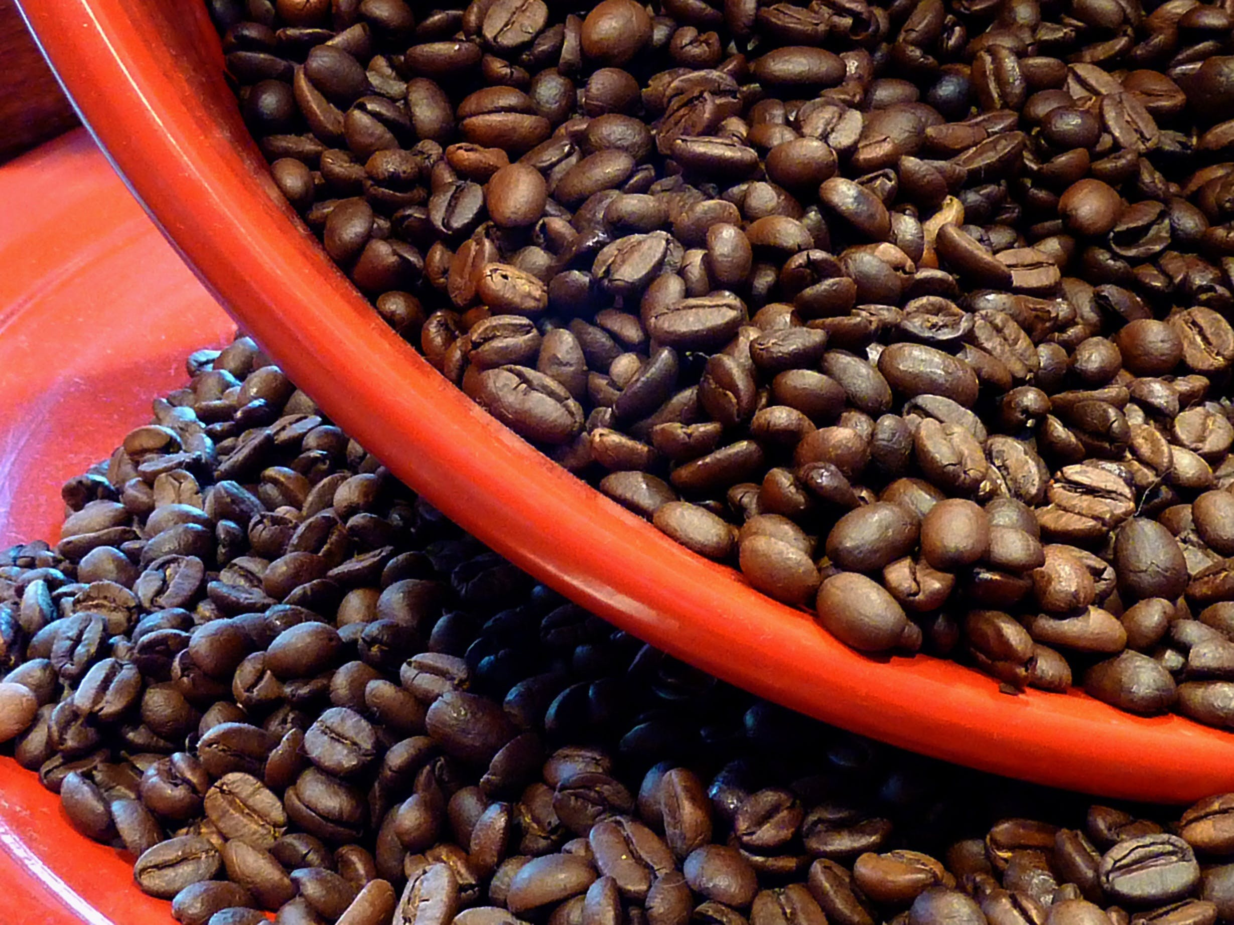 Bowl of Coffee Beans