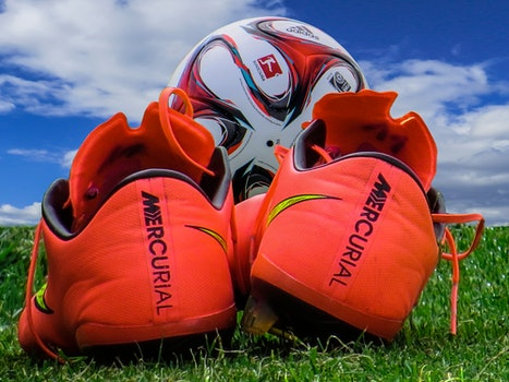 Free stock photo of shoes, sport, ball, football